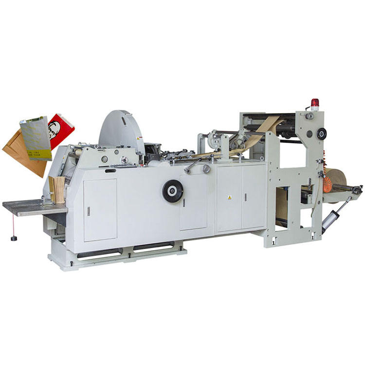 Fully Automatic Khaki Paper Bag Machine Price Small Brown Kraft Paper Bag Making Machine Price in India
