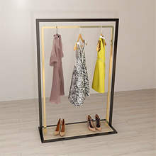 Wholesale Factory Direct Boutique Commercial Grade Clothing Stand Retail Shop Garment Display Rack For Clothes