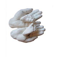 Baby 3D Plaster  DIY Baby Hand And Foot Casting Kit Keepsake Gifts Molding Clone Alginate Powder
