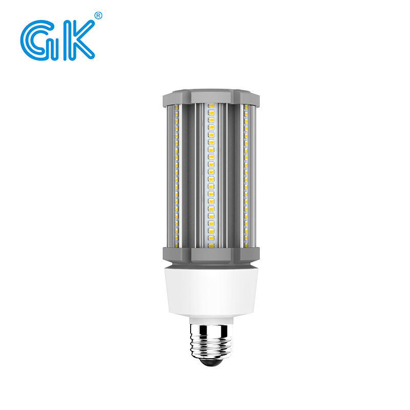 China fabrikant lage power led maïs licht e27 hoge kwaliteit product 3900lumen led lamp 27w gebruik in muur pack/acorn