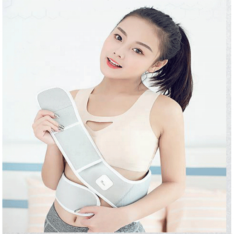 Graphene Far Infrared Heated Lower Back Support Belt Electric Heating Waist Belt to Reduce back and Waist Pain