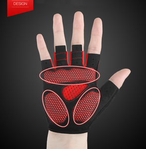 Mole Mole Summer Bicycle Short Gloves Thin Breathable Gloves Half Finger Shock Absorption Bike Equipment