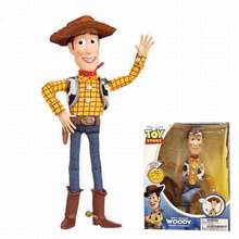 Hot selling Anime figure Toy Story Woody Pull the line talking toy doll Boxed Figure Decoration Model