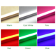 Light Tube Whole Sale Green Blue Red Pink Rgb Light T8 1500mm 1200mm 900mm 600mm Led Tube Colored Led Tube Glass Led Tube With CE ROHS