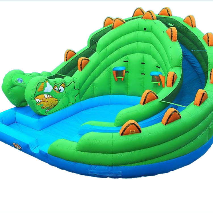 Inflatable Slide China Guangzhou Commercial Outdoor Inflatable Castle Water Slide Pool For Kids