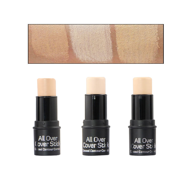 3 colori trucco cosmetici private label trucco in <span class=keywords><strong>tubo</strong></span> di matita pro <span class=keywords><strong>correttore</strong></span> bastone