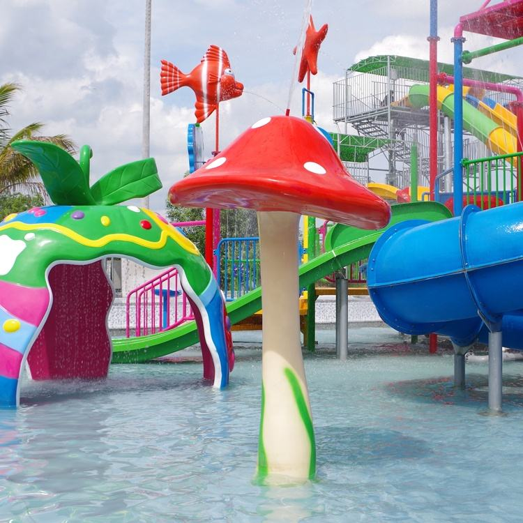 <span class=keywords><strong>Water</strong></span> Amusement Glasvezel Materiaal Splash Park Apparatuur