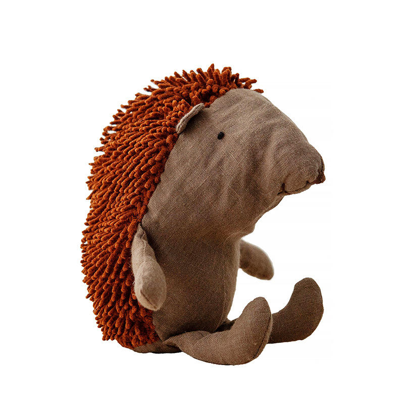 Creative new companion doll simulation hedgehog doll baby play plush toy