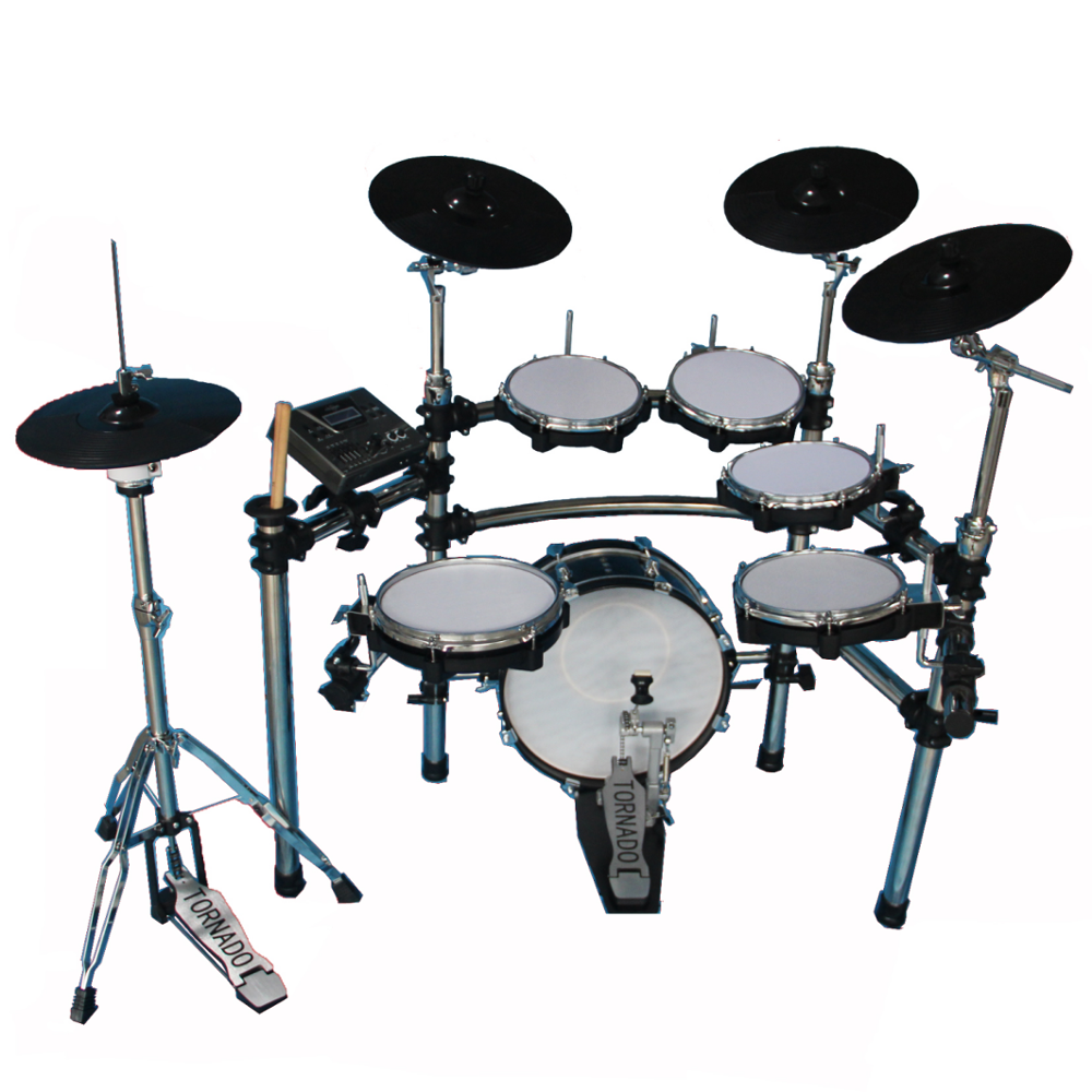 High quality percussion instruments drum set EDS-909-8ST660 Electric Drum kit for sale