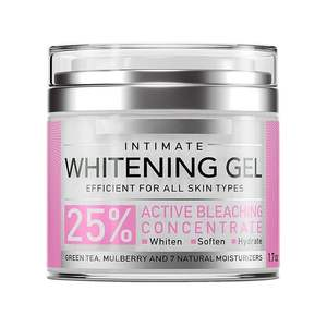 High Quality Natural Skin Treat Cream Intimate Whitening Gel Lightening Moisturizing Efficient For All Skin Types