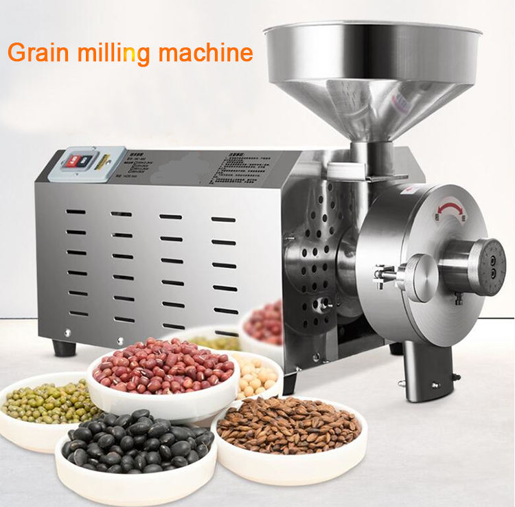 Hot sales cocoa bean grinding machine maize flour milling machine spice grinder on sale