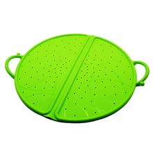 Cooking Shield Guard Lid Kitchen Silicone Oil Grease Splatter Screen for Frying Pan