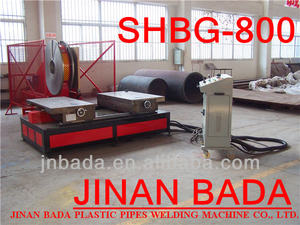SHBG800 Band Saw Butt Lasmachine Butt Fusion Machine