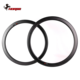 2019 Horsecarbon new & double HTG brake track 25mm wide U shape 35mm profile clincher 700c road bicycle carbon cycle rim R3525TL