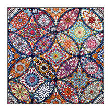 Wholesale DIY Crystal Diamond Painting 5D Mandala Alien Diamond Painting Home Decoration Painting Crafts