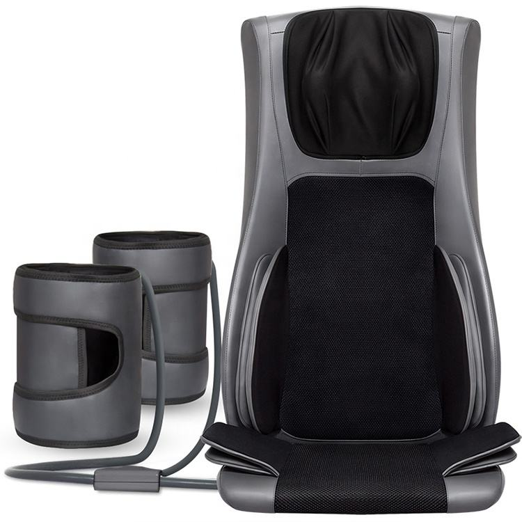 High Quality Luxury Electric Back And Neck Massager Shiatsu Back Massage Cushion With Heat