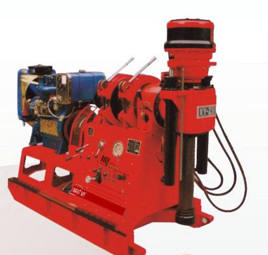 XY-1 180 m dth water drilling machine for sale philippines