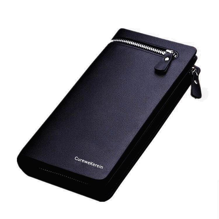 Hot selling Curewe Kerien Good Quality PU men leather wallet for Business
