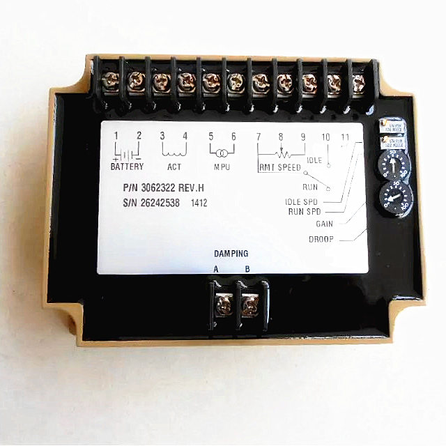 Hot sale Unit EFC 3037359 Generator Speed Controller