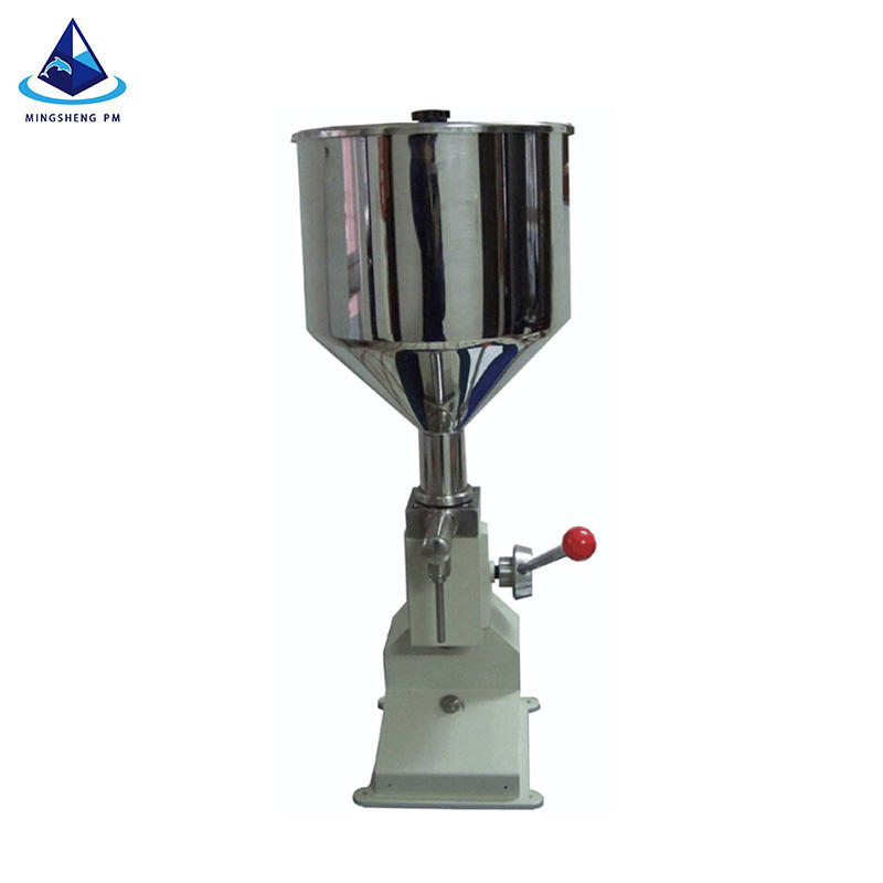 high quality hand operated filling machine/ manual cream liquid filling machine