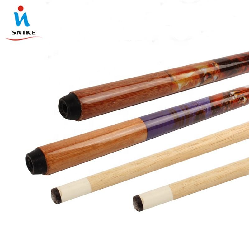 Stock products low price one-pc Ash wood africa pool cue stick lion billiard cue for club use