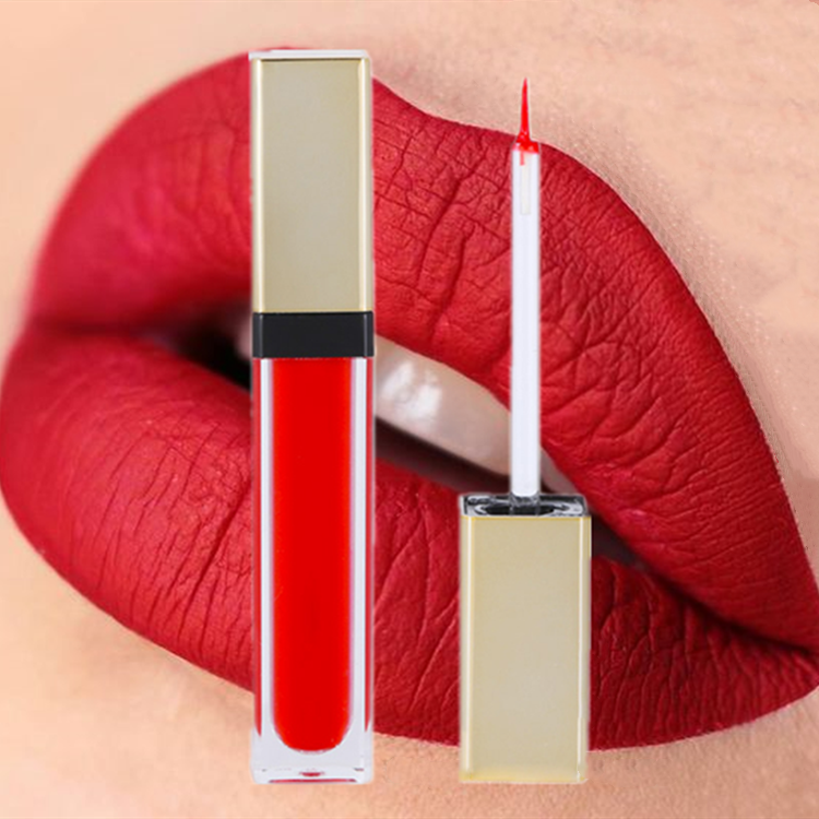 Organic Herbal 50 Colors Lip Gloss Private Label Waterproof Long Lasting Matte Creamy Lipstick