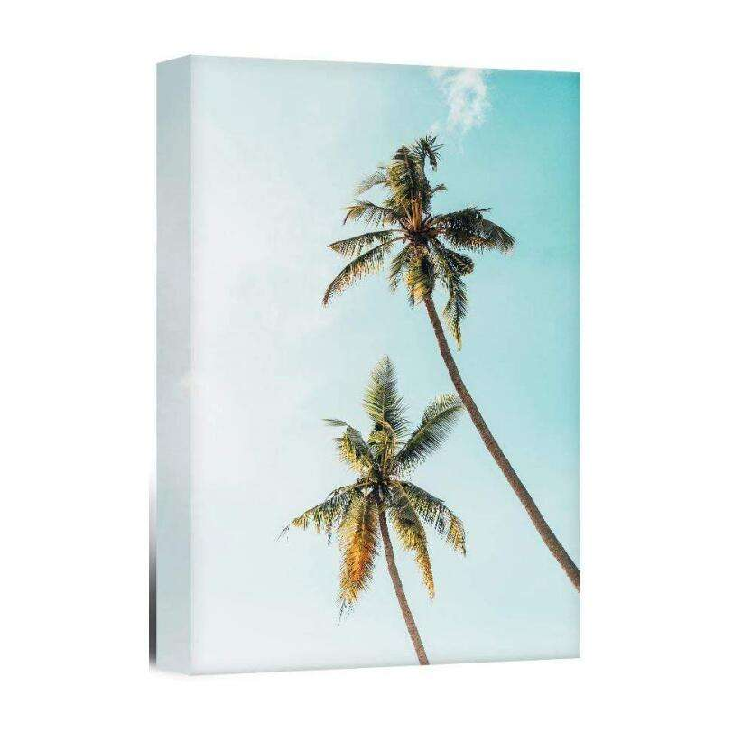 Palm Trees Hanging Poster Wall Art Decor for Home Decoration Print Flower Modern Canvas