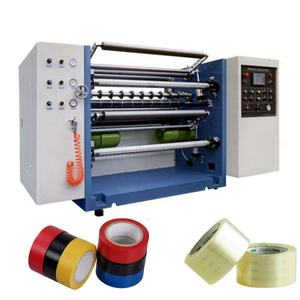 fabric tape cutting machine adhesive tape slitting machine tape cutting and rewinding machine