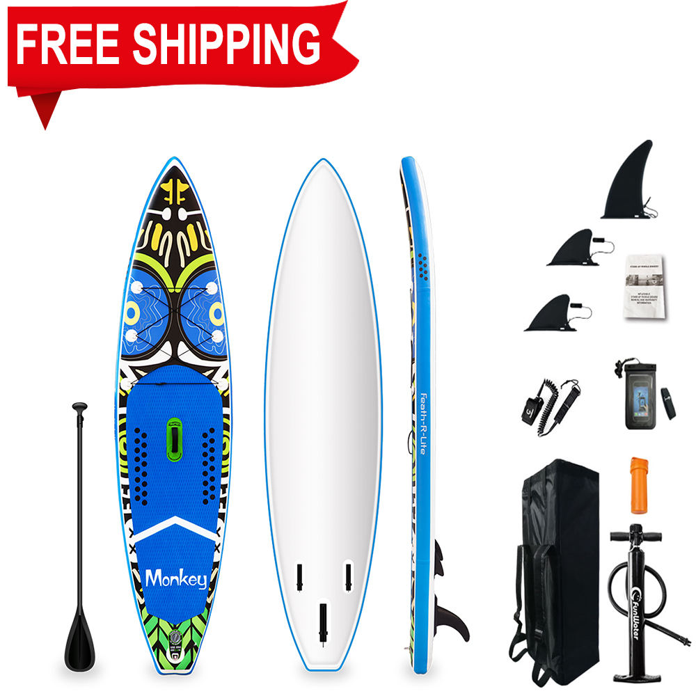 Wholesale inflatable sup cheap paddle boards surfing blue surfboard sale inflatable paddle board sup surf stand up ISUP board