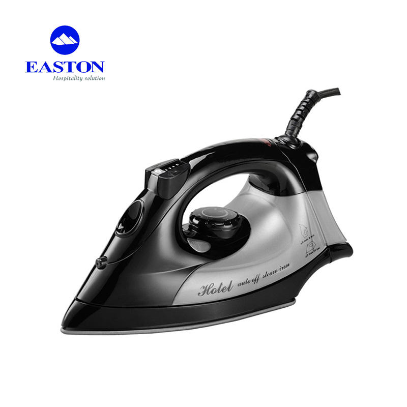 Manufacturer non-stick mini electric dryer iron 1600W voltage for thermostat industrial electric steam irons for hotels