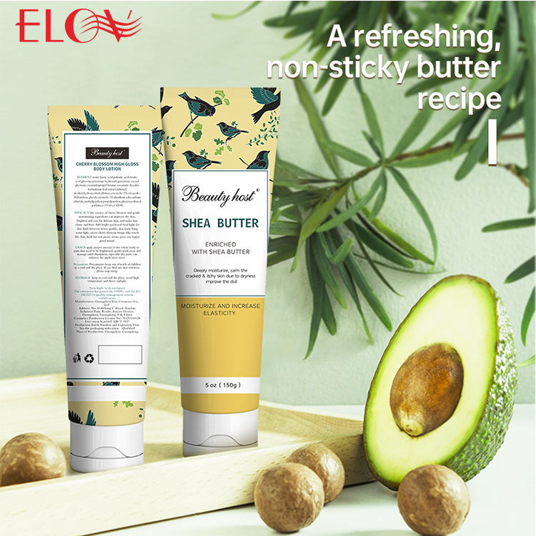 Wholesale Natural Organic Moisturizing Whitening Skin Care Shea Butter Body Cream Lotion