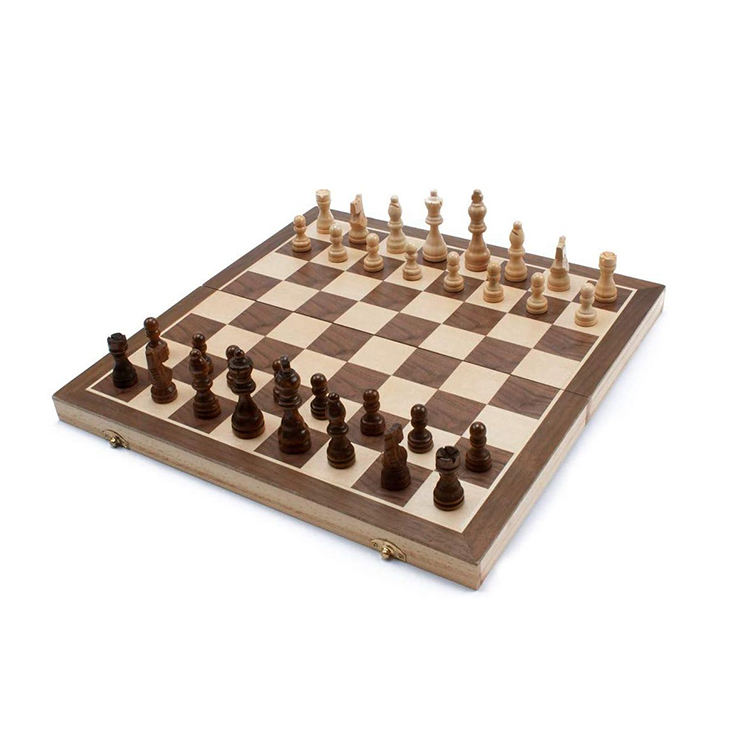 Hot Selling Tunisian Luxury Ebony/Olive Wood Chess Board Games Sets