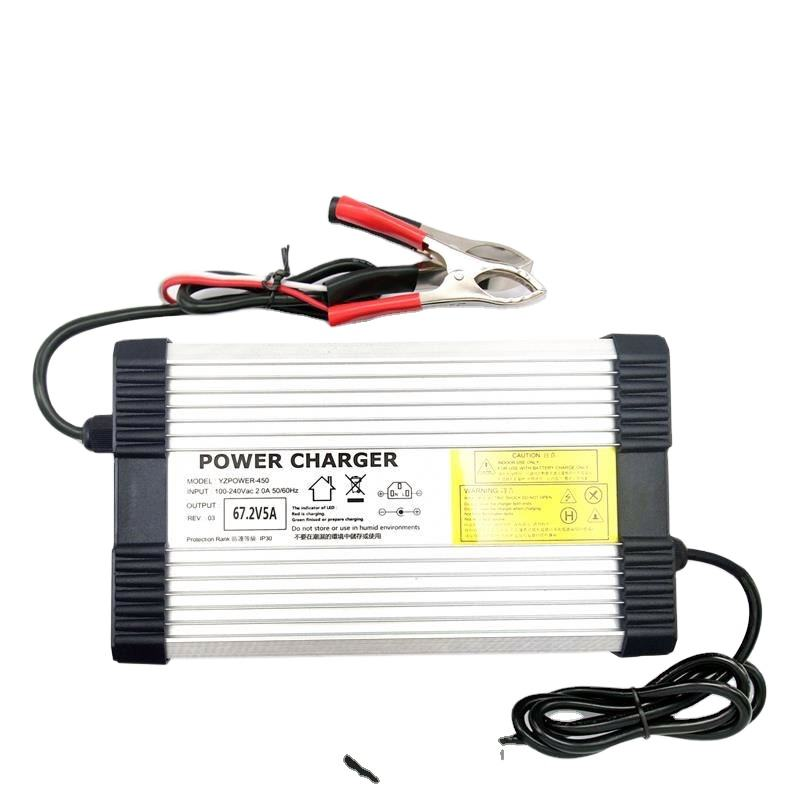 YZPOWER Electric Vehicle High Voltage Battery Charger 58.8v 8a For 14 Cells Li-ion Battery Electric Car
