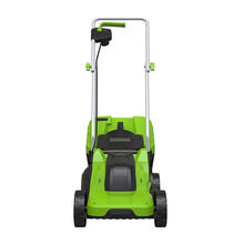 Hand push garden mowing machine 1200W power electric lawn mower with brush motor