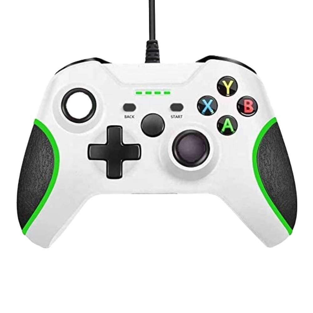 Honcam Manette Jeux PC Manette Filaire <span class=keywords><strong>Xbox</strong></span> One pour <span class=keywords><strong>Xbox</strong></span> 1 X S Avec 3.5mm Prise Audio