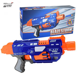 Multifunctional Electric B/O soft bullet gun super toy gun soft bullet with 20 bullets