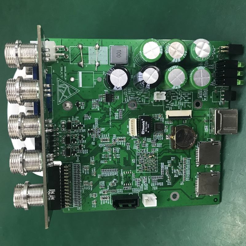 Factory ODM 1 channel 1080P DVR board H.265 dvr pcb board Max support 2*512GB TF card for drain camera used