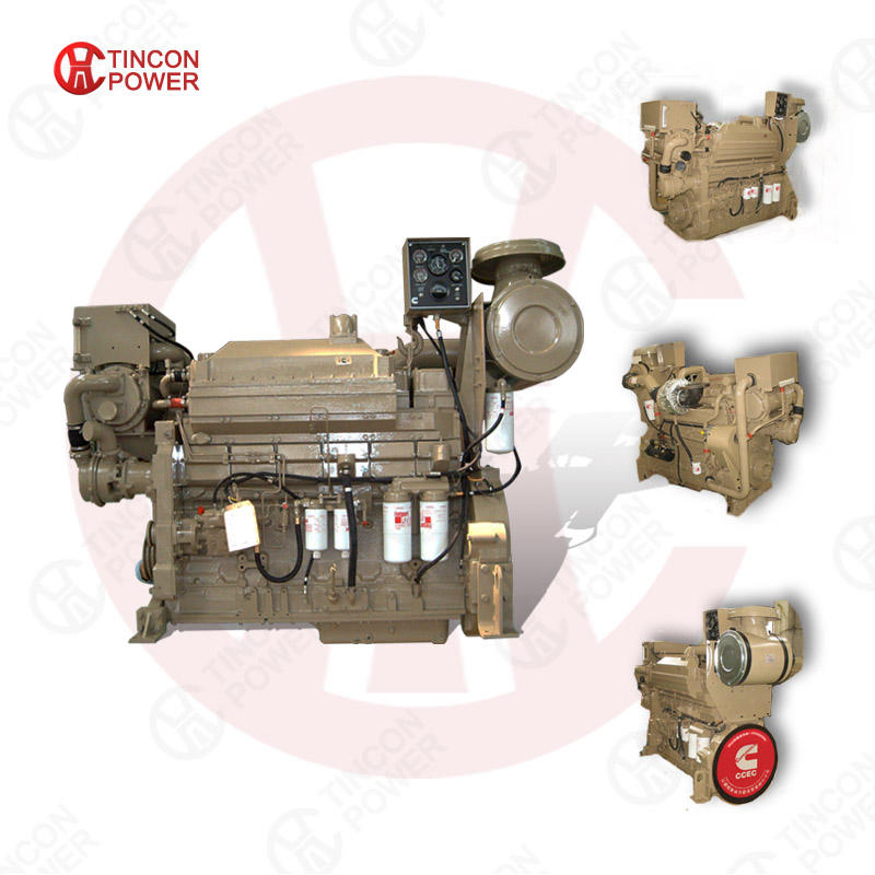 Sales 300hp 400hp 500hp boat marine diesel engine for Cummins NTA855-M/DM China Chongqing