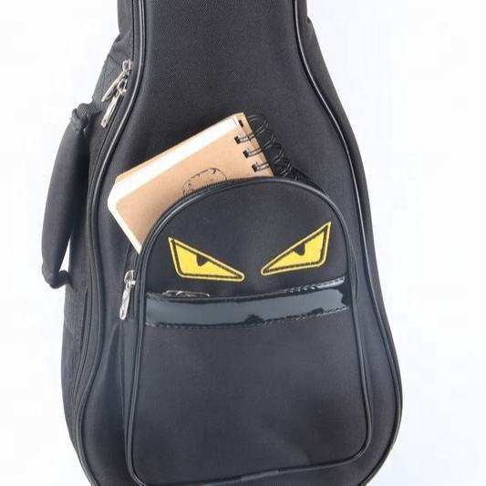 Ukulele bag with Aluminum Zipper for soprano concert tenor ukulele Bag factory manufacturing in Guangzhou