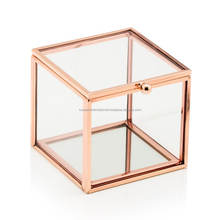 Small Glass Decorative Boxes For Trinkets and Jewelry