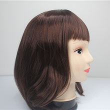 Wholesale China Merchandise 40cm Women Short Hair Wig Human Brown Hair Wigs