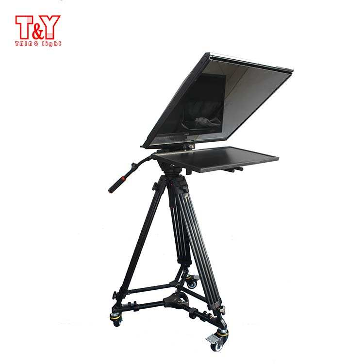 T&Y 22 inch professional television studio teleprompter for broadcasting