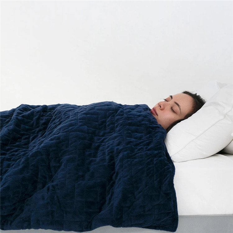 Hot Selling Velvet Weighted Blanket High Demand Cold Weighted Blanket