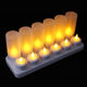 Safety Flameless without remote Birthday Candle Rechargeable Electric Tea led Light Candle