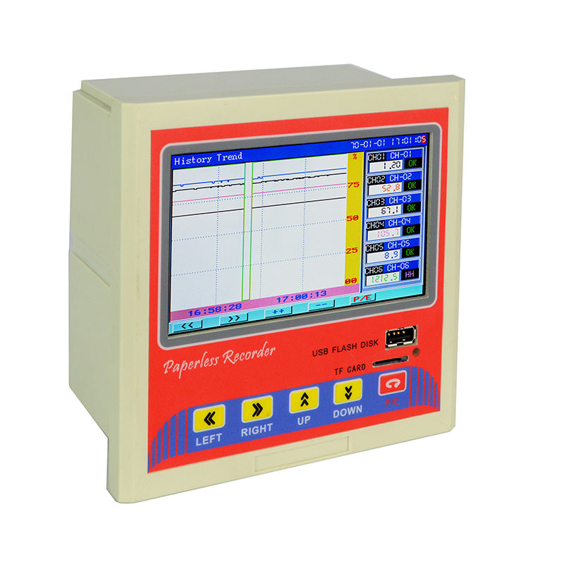 KH3000GG: 12 Channels Paperless Pressure Chart Recorder with USB, RS485,Ethernet Functions