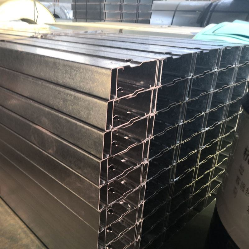 C25019 C/Z Shape Galvanized Steel Purlins Girts AS/ANZ4600 Material for Residential Building