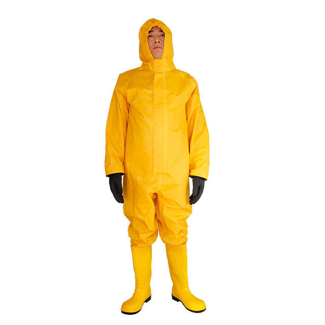 PVC simple chemical protective clothing