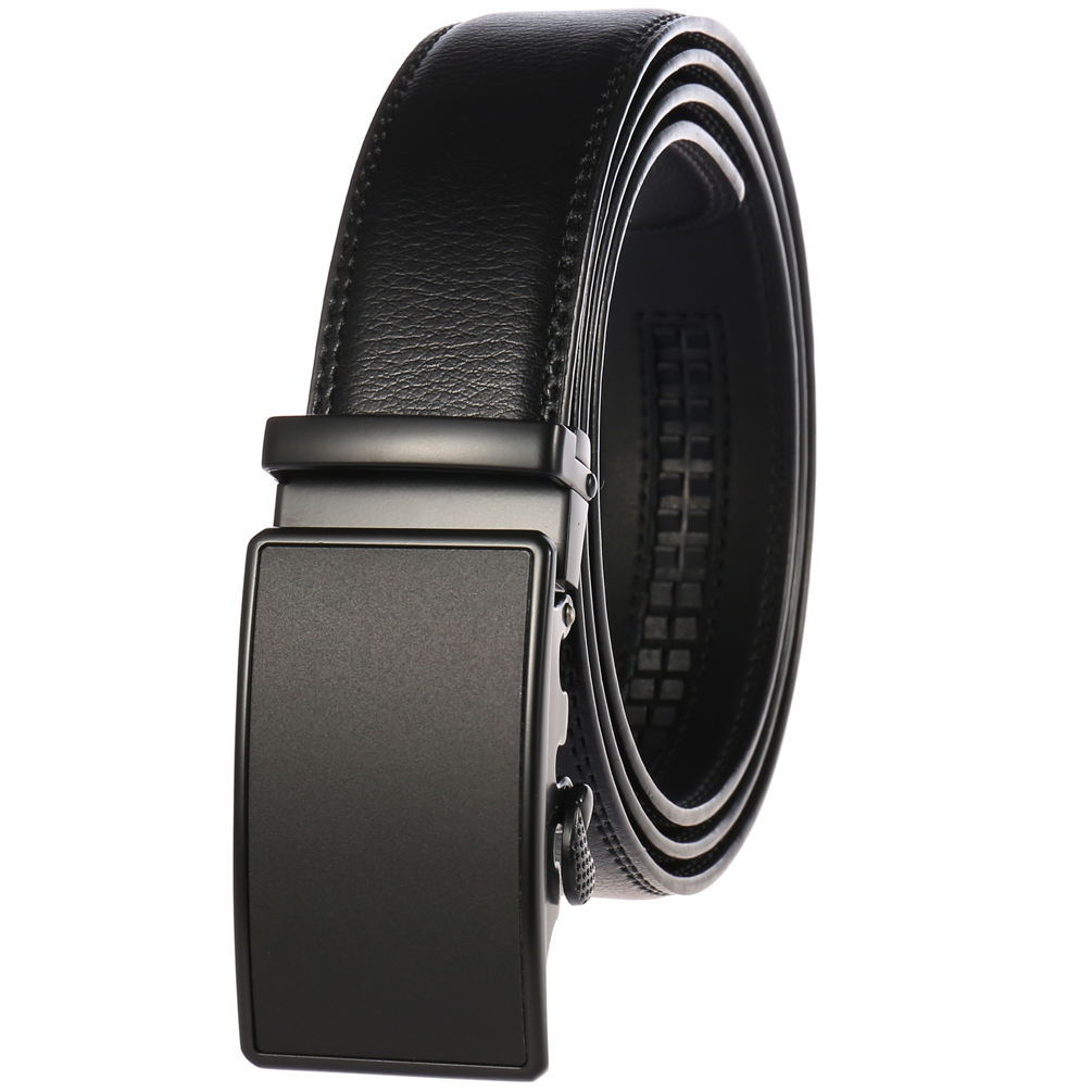 Multi-color fashion trend men's automatic buckle belt LY55-0027-1