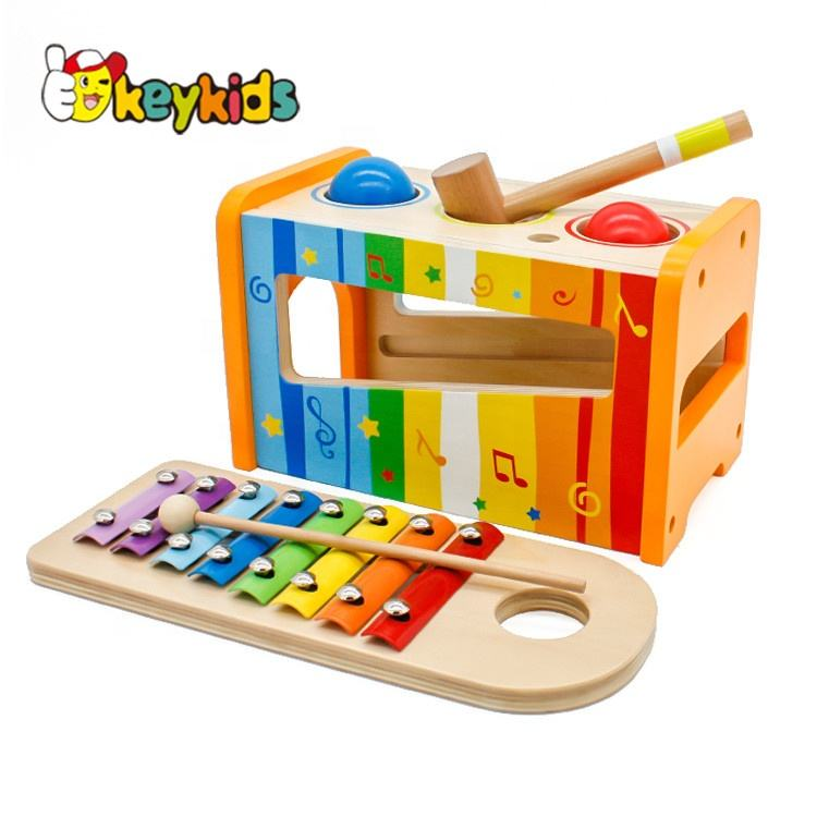 Hot new product for 2019 Latest Wooden toy happy kids toy for kid W06D049