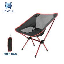 HOMFUL outdoor camping beach relaxing travel portable folding chair
